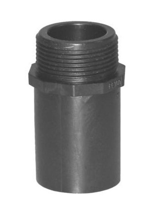 """Plasson Puntstuk 63 mm x 1½"""" met lang spie-eind"""