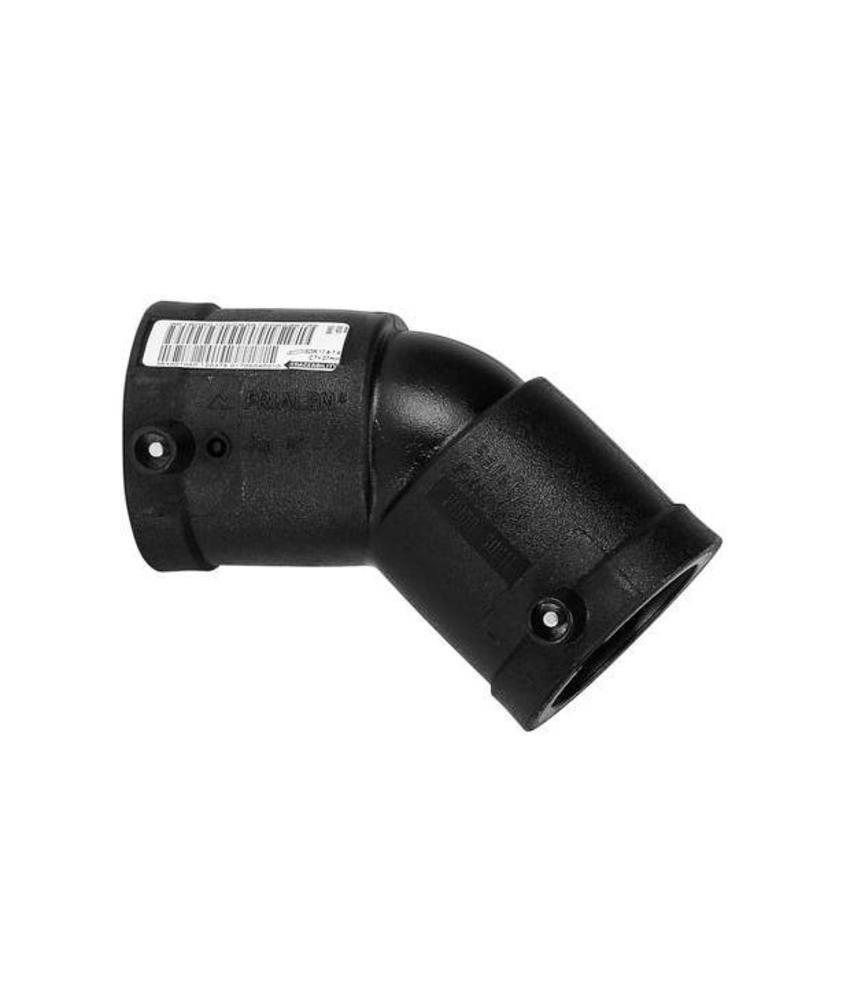 Plasson Elektrolas knie 125 mm 45°