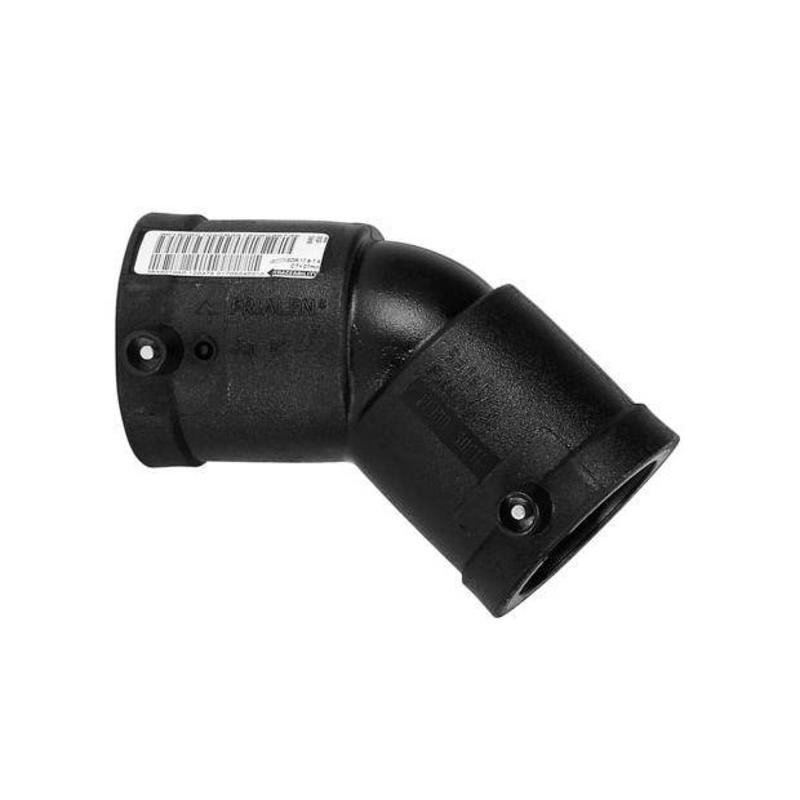 Plasson Elektrolas knie 140 mm 45°
