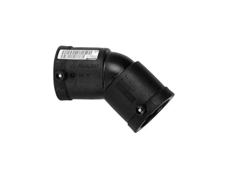 Plasson Elektrolas knie 250 mm 45°