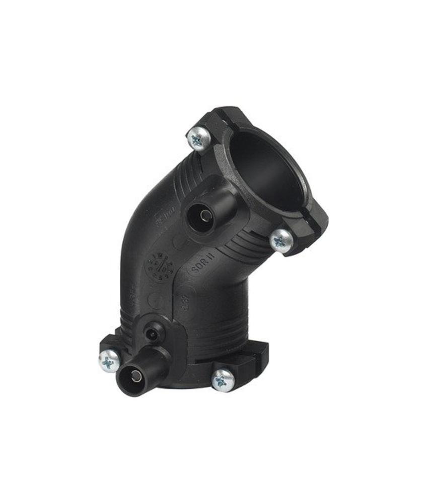 GF ELGEF elektrolas knie 45° | 63 mm - PE100 / SDR11