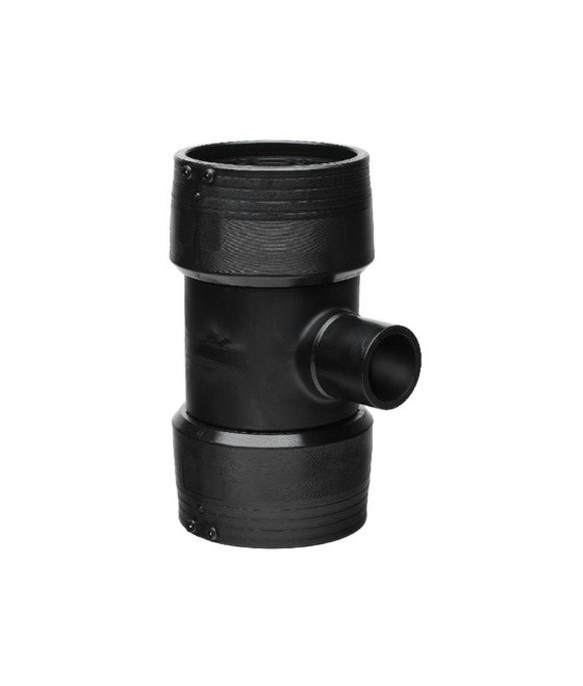 GF ELGEF elektrolas T-stuk 90° reductie | 225 mm / 90 mm