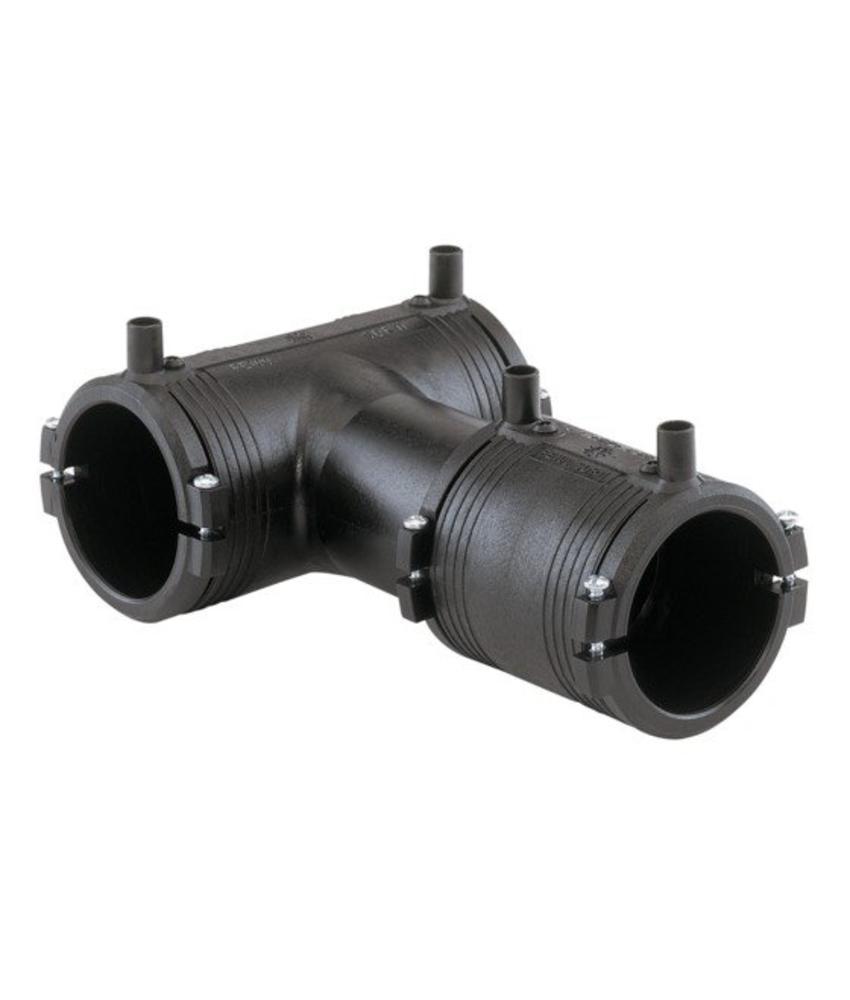 GF ELGEF elektrolas T-stuk 90° lasbare aftakking | 125 mm / 125 mm