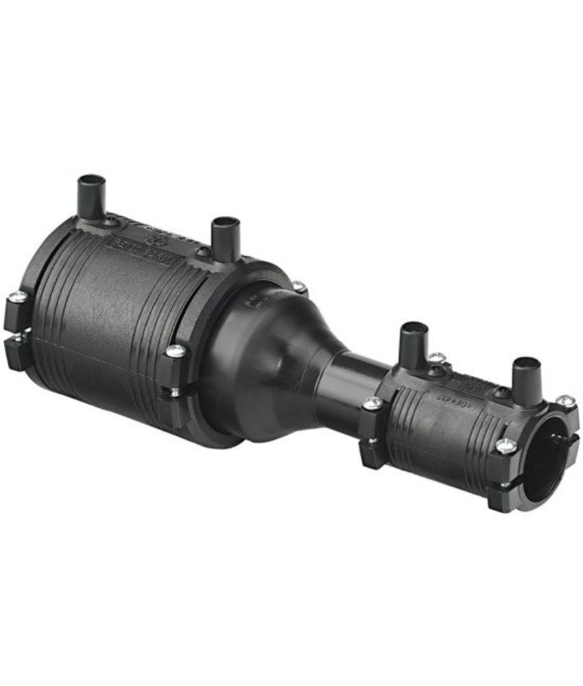 GF ELGEF elektrolas verloopstuk (kit) | 125 mm / 63 mm