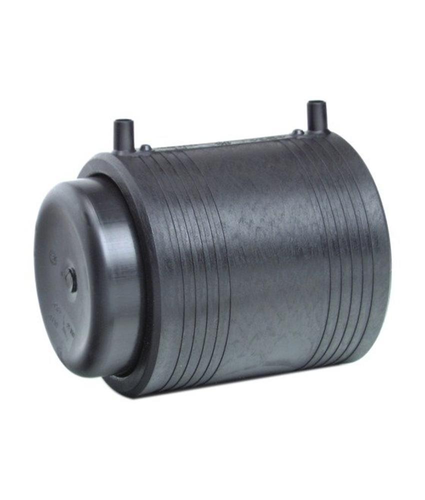 GF ELGEF elektrolas eindkap 125 mm (kit) | PE hulpstuk