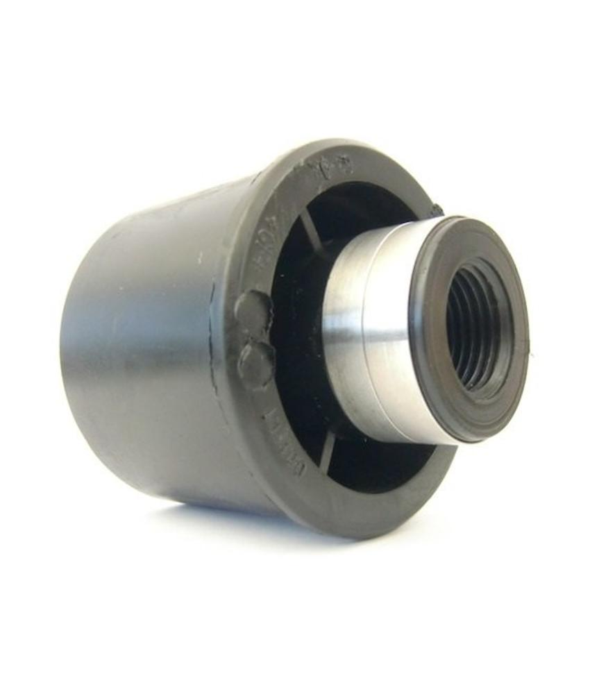 "GF ELGEF PE adapter 63 mm x ½"" bi.dr."