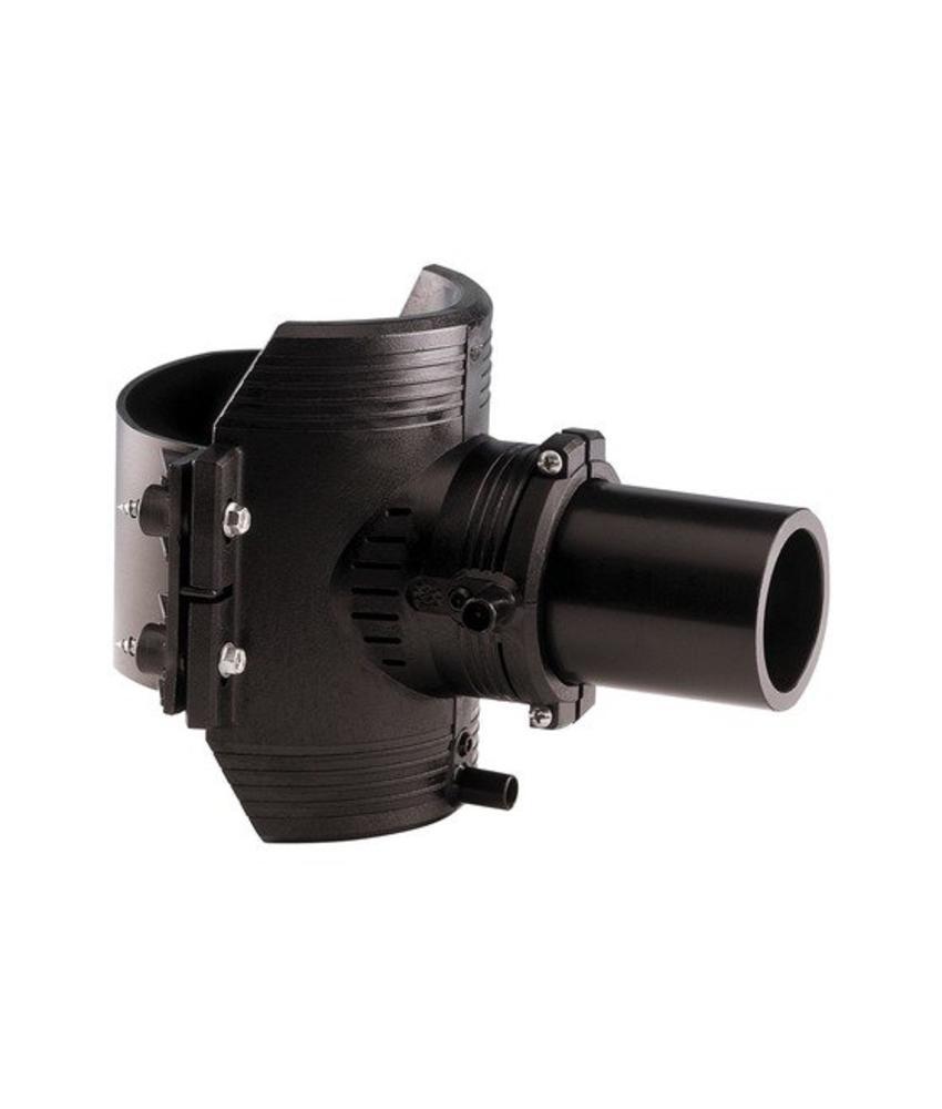 GF ELGEF elektrolas spie-eindzadel 75 mm / 63 mm | PE hulpstuk