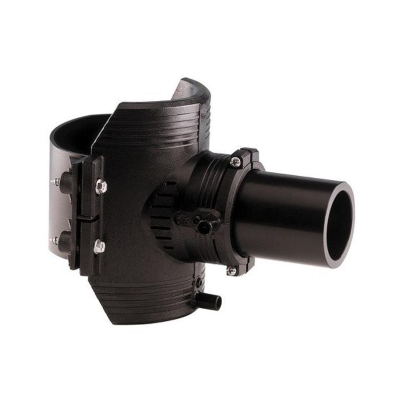 GF ELGEF elektrolas spie-eindzadel 160 mm / 63 mm | PE hulpstuk