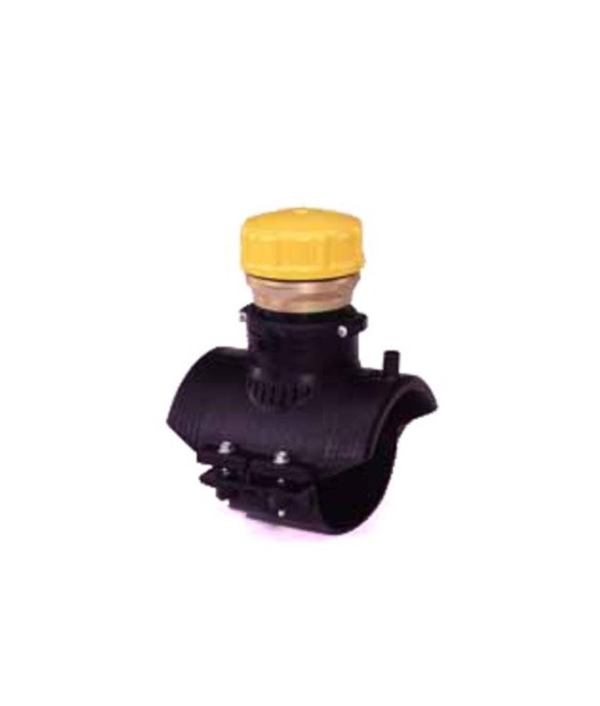 "GF ELGEF elektrolas blaasgatzadel 315 - 355 mm / 2½"" | PE hulpstuk"
