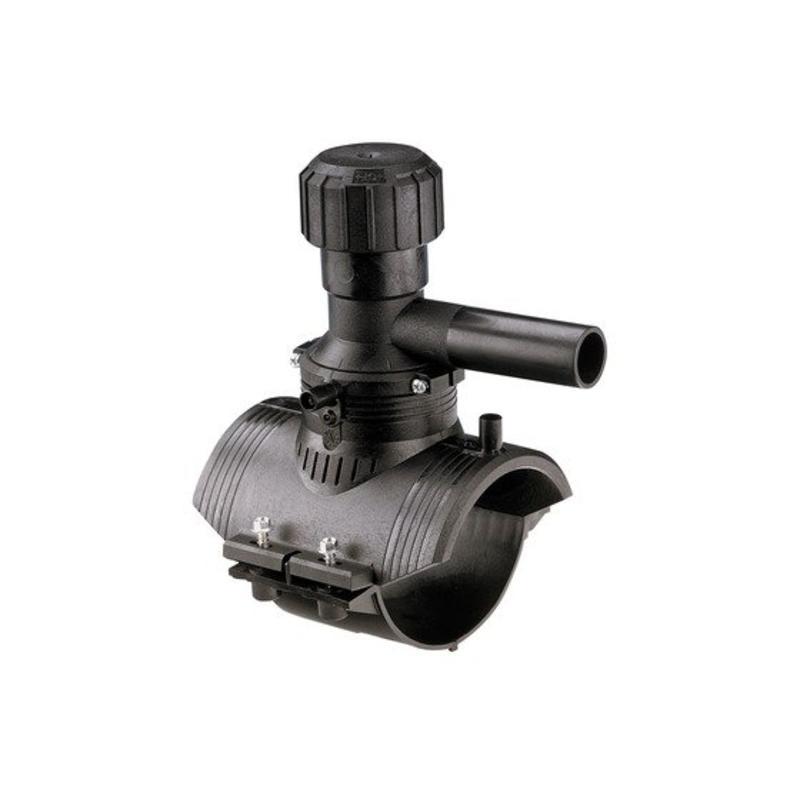 GF ELGEF elektrolas aanboorzadel 360° aftakking 75 / 25 mm