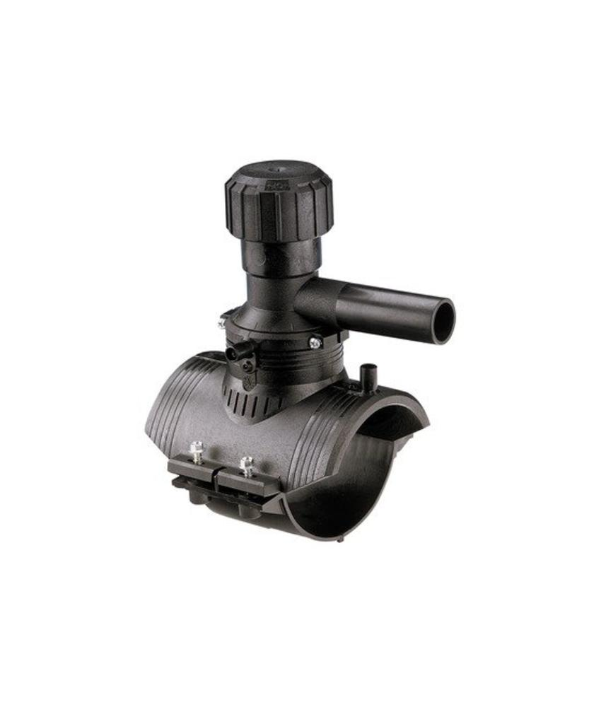 GF ELGEF elektrolas aanboorzadel 360° aftakking 110 / 25 mm