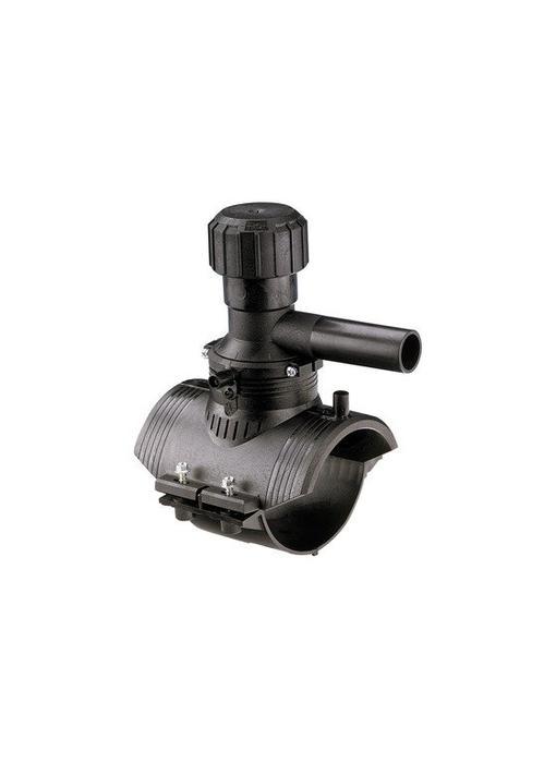 GF ELGEF elektrolas aanboorzadel 360° aftakking 140 / 63 mm