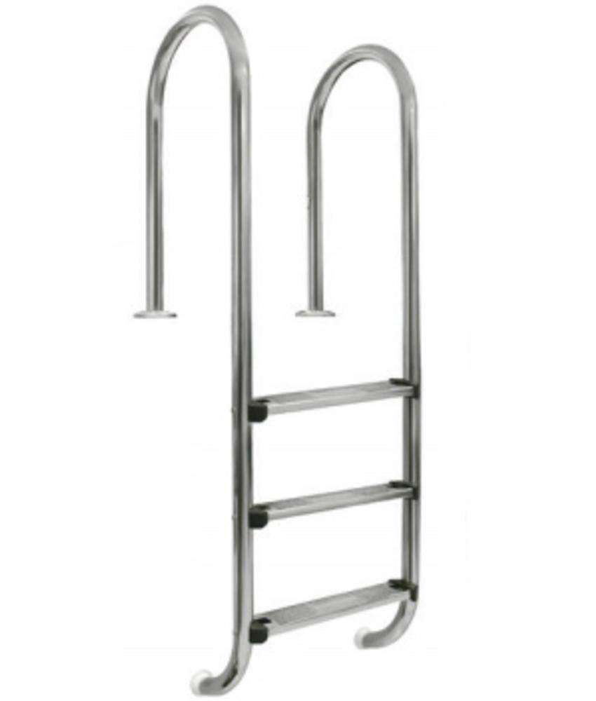 AstralPool Zwembadtrap recht RVS-304 - 3 treden ladder