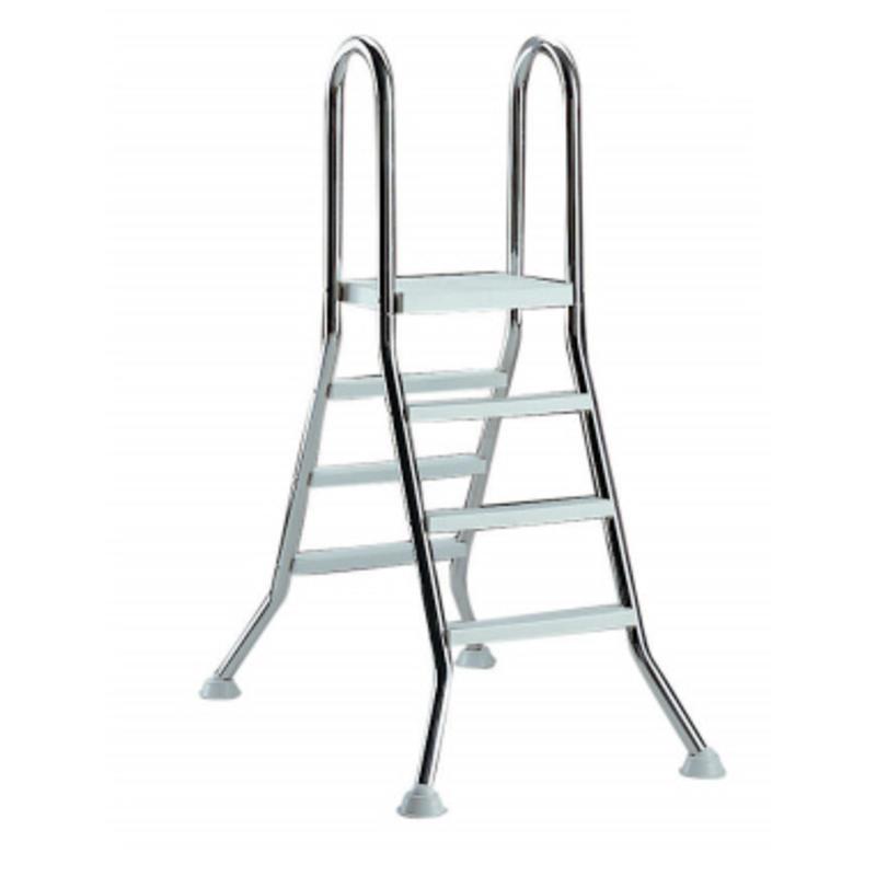 AstralPool Ladder RVS 4 x 4 + platform - bovengronds zwembad