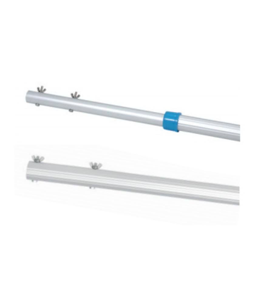 AstralPool Basic Line telescoopsteel - lengte 2,4 - 4,8 m