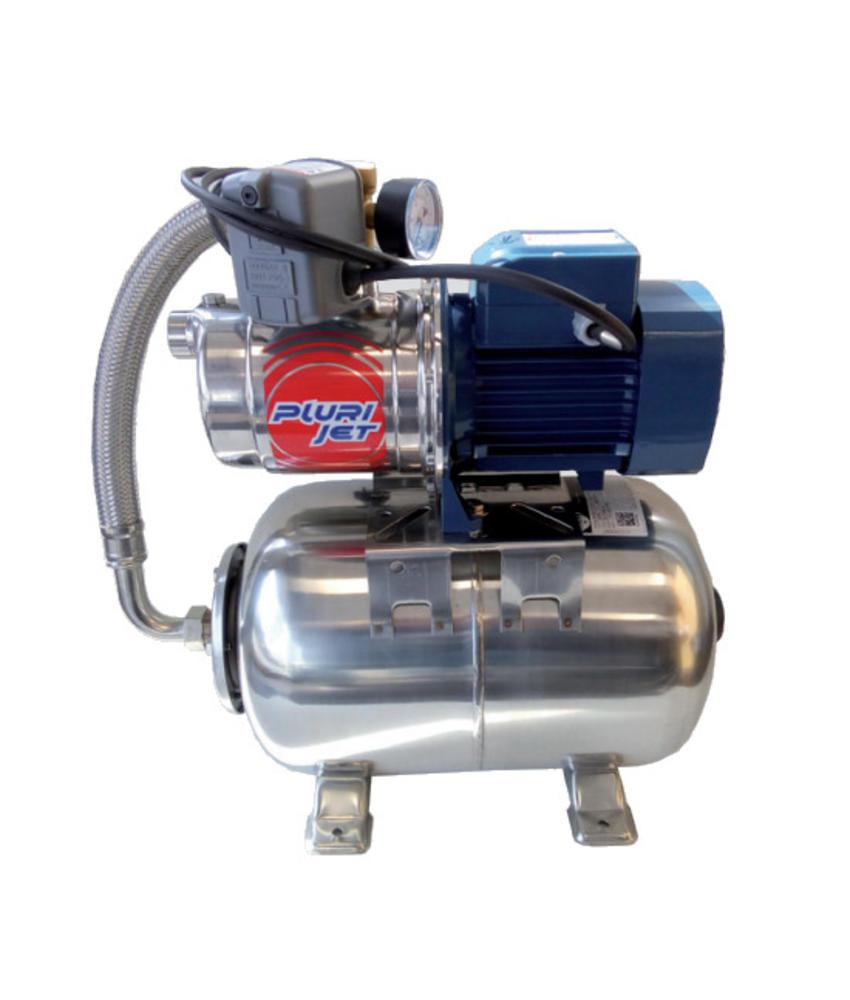 Pedrollo Plurijet m4/100-24L SS 0,75 kW - 1 PK hydrofoorpomp