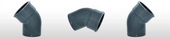 PVC Bocht 45gr, SN8 mof/spie (125 t'm 200mm)