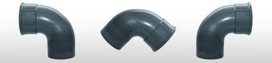 PVC bocht 88gr, SN8 mof/spie (125 t'm 200mm)