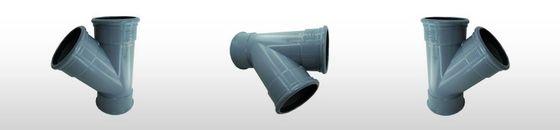 PVC T-stuk 45gr SN8, 3 x mof (125 t'm 200mm)