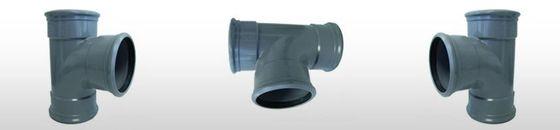 PVC T-stuk 88gr SN8, 3 x mof (125 t'm 160mm)