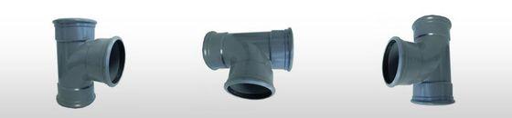 PVC T-stuk 88gr SN4, 3 x mof (110 t'm 315mm)