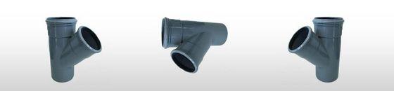 PVC T-stuk 45gr SN4, 2x mof/spie (110 t'm 315mm)