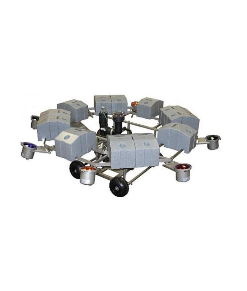 AquaMaster Verlichtingsset (RVS) 4 x 500 watt