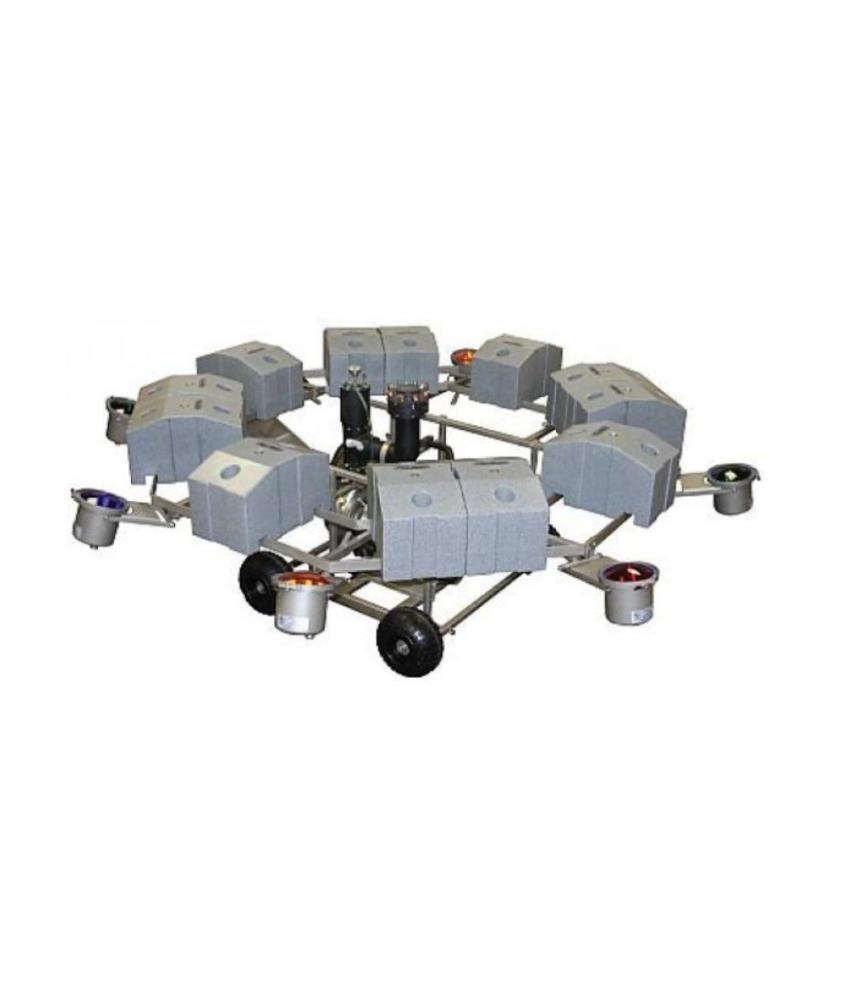 AquaMaster Verlichtingsset (RVS) 8 x 500 watt