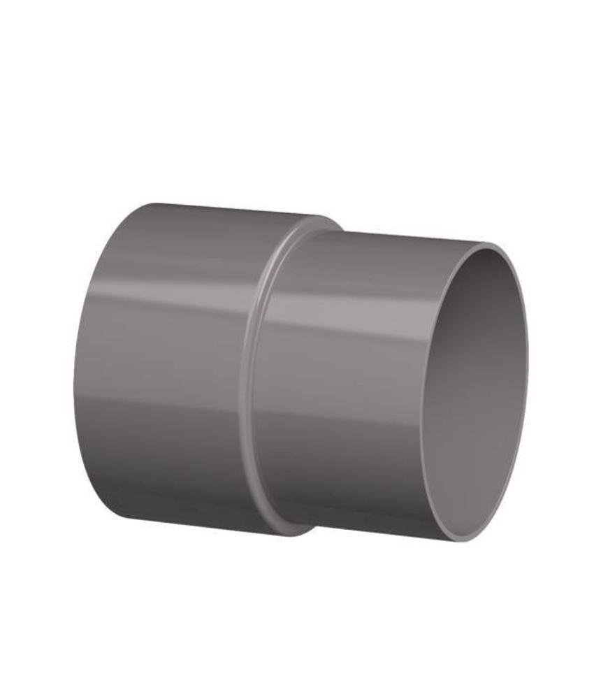 PVC HWA mof - 110 x 103 mm verjongd spie-eind