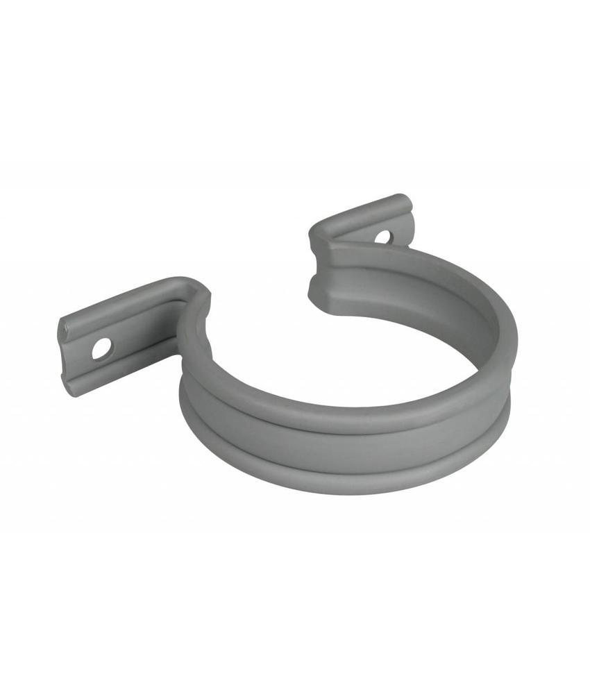PVC HWA zadel grijs - 75 mm