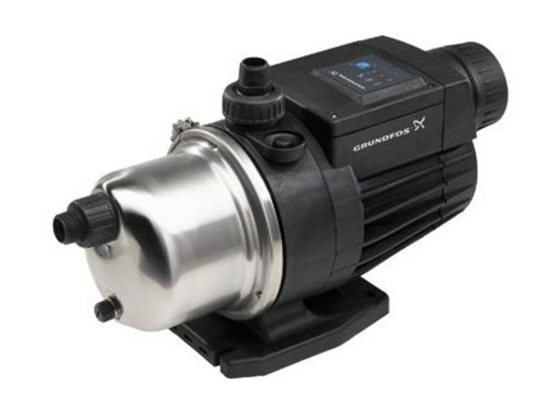 Grundfos MQ 3-35 drukverhogingspomp met AISI-316 motoras