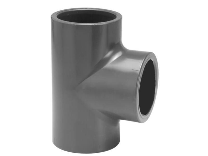 VDL PVC T-Stuk Ø 40 PN16, 90 graden