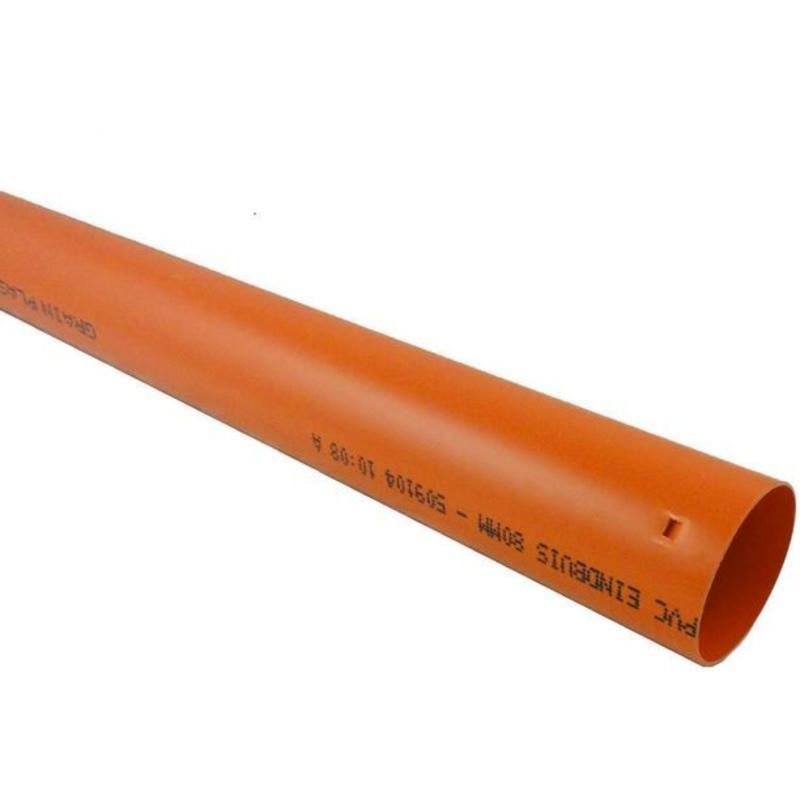 PVC Drainage eindbuis Ø 60mm