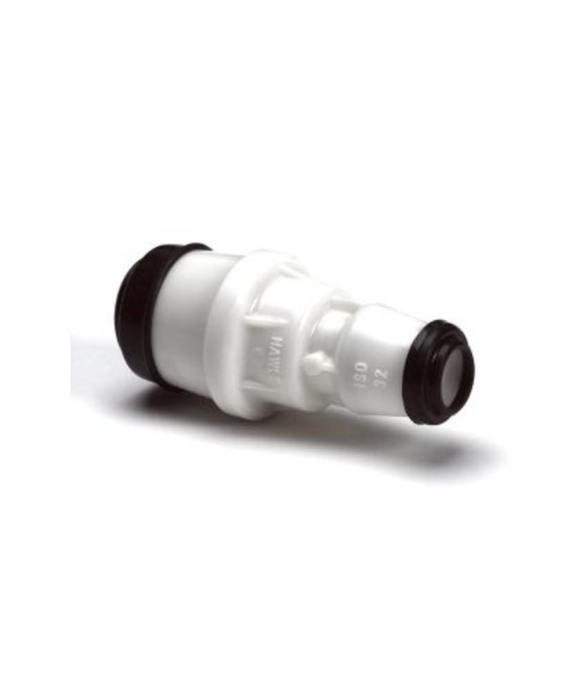 Hawle verloopkoppeling GASTEC - 50 x 32 mm | 2 x steek