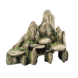 Aqua Della Decoratie steen Slate cave 25x15x (H)20 cm