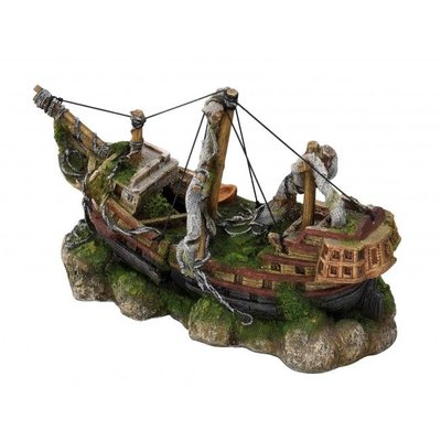 Aqua Della Aquarium Decoratie Three Masted Ship M
