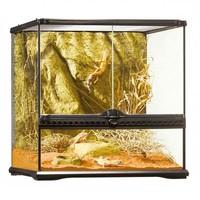 P16 Glazen terrarium incl. achterwand 45x45x45cm