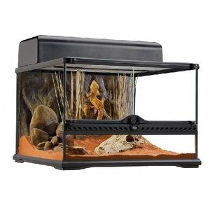 Exo Terra Glazen terrarium incl. achterwand 45x45x30cm