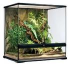 P12 Glazen terrarium incl. achterwand 60x45x60cm