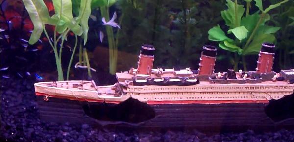Aquarium decoratie schip boot of scheepswrakken pets gifts for Decoratie aquarium