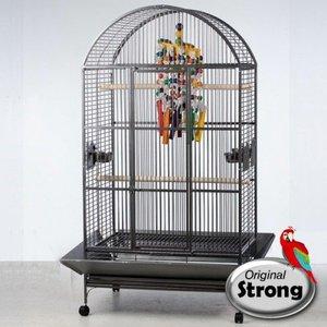 Strong Papegaaienkooi Ronja grijs