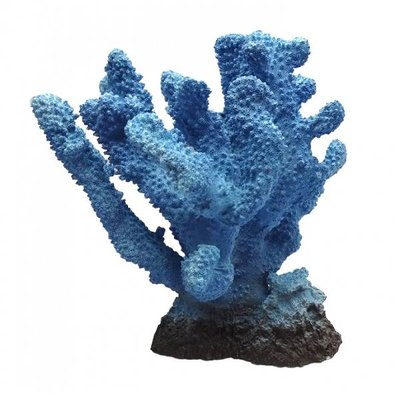 Duvo+ Aquarium Decoratie Koraal XL blauw