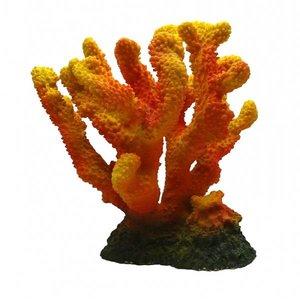 Duvo+ Aquarium Decoratie Koraal XL oranje