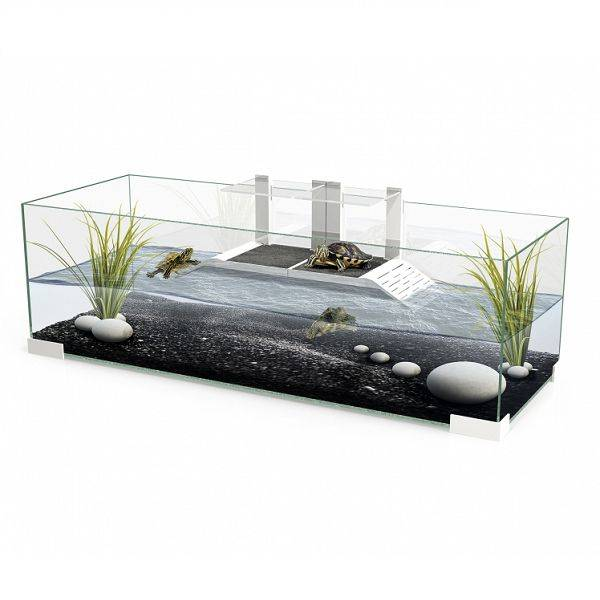 Waterschildpad aquarium groot assortiment en zeer for Acquario grande per tartarughe