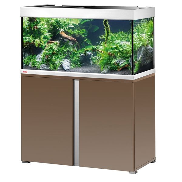 Eheim aquarium met meubel proxima 250 mokka pets gifts for Achat aquarium design
