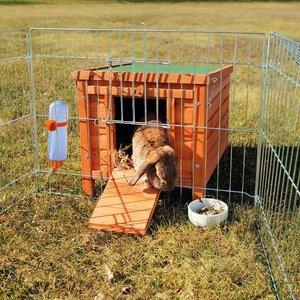Trixie Konijnenhuis XL bruin 60x47x50cm