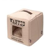 D&D Kattenhuis Pet Cube beige