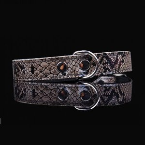 Pets Gifts Halsband Grey Snake