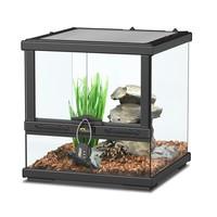 Aquatlantis Smart Line Terrarium zwart 30 x 30 x 30 cm