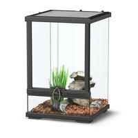 Aquatlantis Smart Line Terrarium zwart 30 x 30 x 45 cm